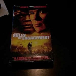 VCR tape Rules of Engagement movie.
